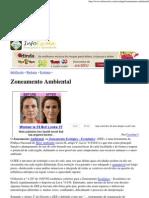 Zoneamento Ambiental - InfoEscola