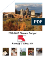 Ramsey County, Minnsota   2012-2013 Biennial Budget