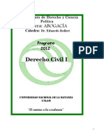 Imprimir Programa de Dercho Civil 1