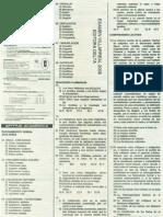 Solucionario de Examen de Admisión UNFV 2008-I