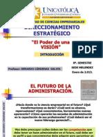 DIRECCIONAMIENTO ESTRATÉGICO- 2.013 - INTRODUCCION.
