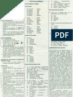 Solucionario de Examen de Admisión UNFV 2005