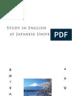 Study in English at Jp Univ