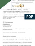 COSTILLAS DE CERDO ASADAS ( AL HORNO) - Petit Chef.pdf