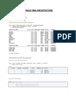 Oracle DBA Architecture