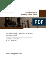 The Lao Economy