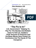 Military Resistance 11B5 The Fix Is In