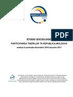 Raport_Studiu_Participarea Tinerilor in Moldova