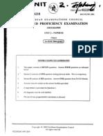 Geo Unit 2 Past Papers Ocr