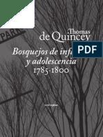 Fragmento de Quincey