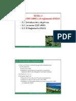 EMAS - ISO 14001