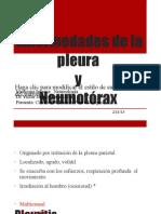 Enfermedades de La Pleura y Torax Trumatico