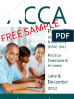 2012 Paper P7 QandA Sample Download v1