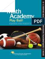 Math Academy Play Ball