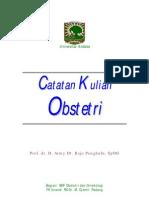 Catatan Kuliah Obstetri