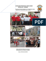 Informe Anual Turismo 2012