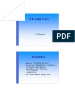 Php Tutorial Handout