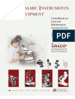 Instruments in ophthalmology