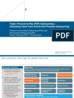 Procure-to-Pay (P2P) Outsourcing