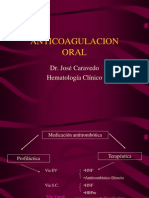 Anticoagulacion Oral