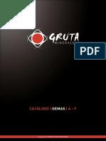 Gruta Catalogo Gemas a-F