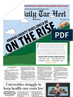 The Daily Tar Heel for February 11, 2013