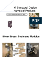 Structural Design and Analysis of Products