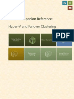 Poster Companion Reference - Hyper-V and Failover Clustering