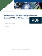 Pique Solutions Solaris to Windows Server Migration White Paper