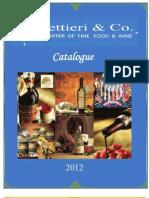 Lettieri Catalog Copy Miscela Espresso 8-16-2012