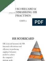 HRD Scorecard, Benchmarking