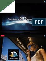 BRAVIA 3D