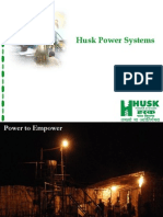 Husk Power Systems (Introduction Updated)