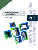 Catalogo Siemens Automatismo Control, Instalacion y Automatizacion
