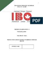 IBO 2007 Canada-Theory Exam(part 2)