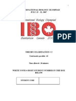 IBO 2007 Canada-Theory Exam(part 1)