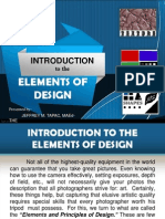 Introduction to the Elements of Design
