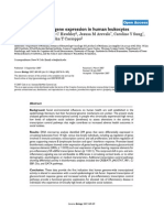 Social Regulation of Gene Expression in Human Leukocytes