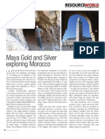 Maya Gold & Silver and Guy Goulet Exploring Morocco