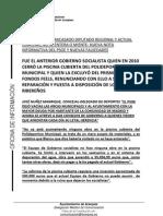 Nota Piscina Polideportivo