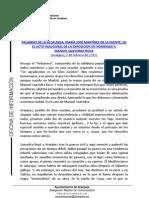 PALABRAS ALCALDESA EXPOSICIÓN MANUEL SAAVEDRA