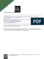 An Analysis of Price Discrimination Mechanisms and Retailer Profitability