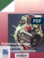 UPC-Problemas Cinematica de Mecanismos Planos