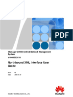 100800613 iManager U2000 Northbound XML Interface User Guide V100R002C01 05