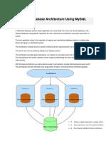 Distributed Database Architecture Using MySQL Replication