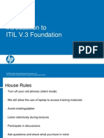 1 Introduction to ITIL v.3