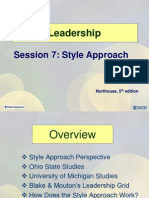 Session7 LD11 Style Approach
