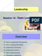Session15 LD11 Team Ledership