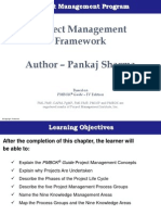 Chapter 1 - Project Management Framework
