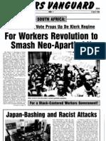 Workers Vanguard No 548 - 3 April 1992